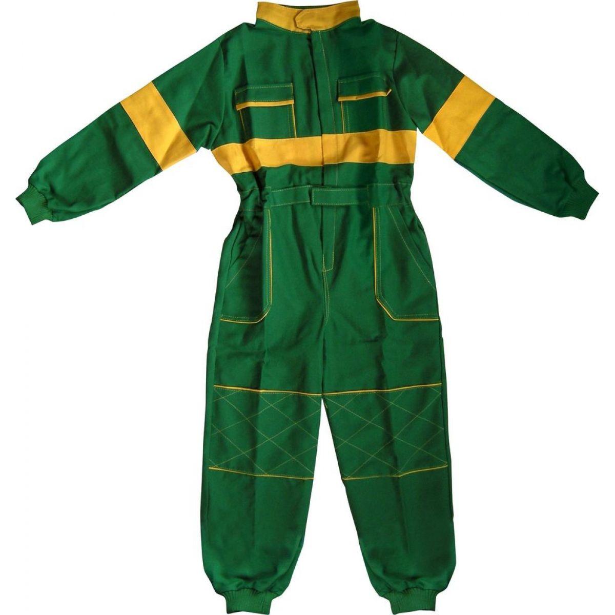 Dětská montérková kombinéza vel. 110 - Zelená