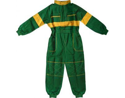 Dětská montérková kombinéza vel. 120 - Zelená