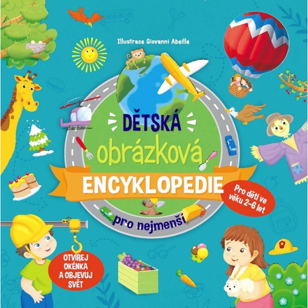 Ottovo nakladatelství Dětská obrázková encyklopedie pro nejmenší
