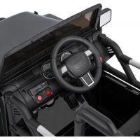 Made Dětské elektrické auto 2,4 Ghz magnetické dveře MP3 přehrávač s rádiem 5
