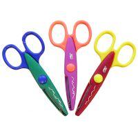 Easyoffice Dětské nůžky dekorativní 3 vzory