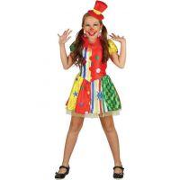 Dětské šaty na karneval Klaun 120 - 130 cm