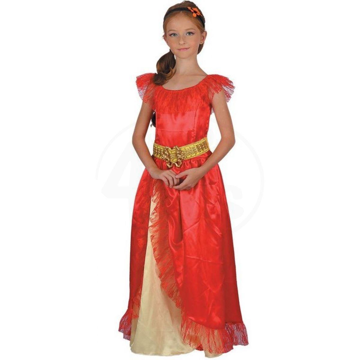 1f4ee8a8f5e5 Dětské šaty na karneval princezna 120-130 cm