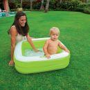 Intex 57100 Dětský bazének čtverec - Zelená 2
