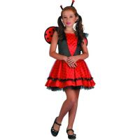 Made Šaty na karneval Beruška 120-130 cm