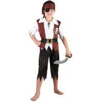 Dětský karnevalový kostým Pirát, 130-140 cm