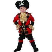 Made Dětský karnevalový kostým Pirát 92-104 cm