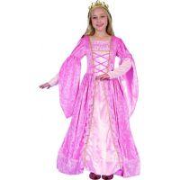 Made Dětský karnevalový kostým Princezna růžová 130-140 cm