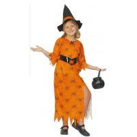 Dětský kostým Čarodějka 110-120 cm