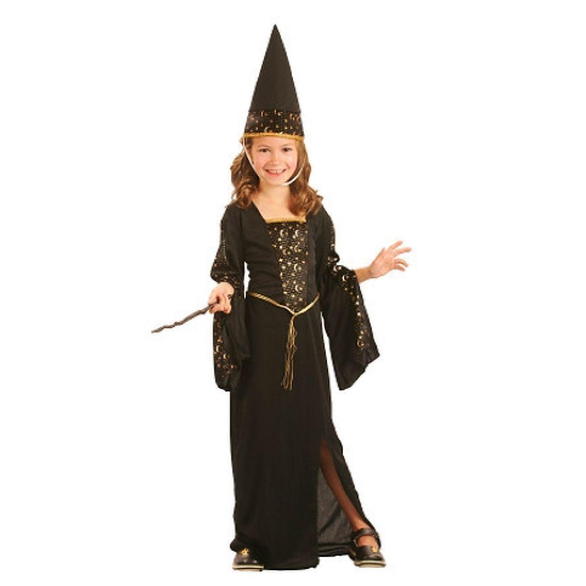 Made Dětský kostým Čarodějka 120-130cm MaDe