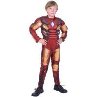 Rubie's Dětský kostým na karneval Ironman 130 - 140 cm