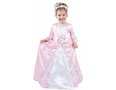 Made Dětský kostým Princezna růžová 3-4 roky
