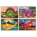 Melissa & Doug  62879 - Puzzle 4 v 1, dinosaurus 2
