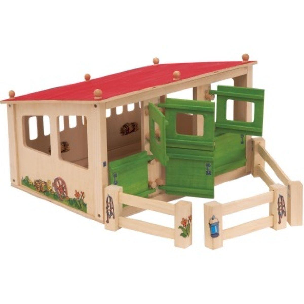 Dřevěná Stáj