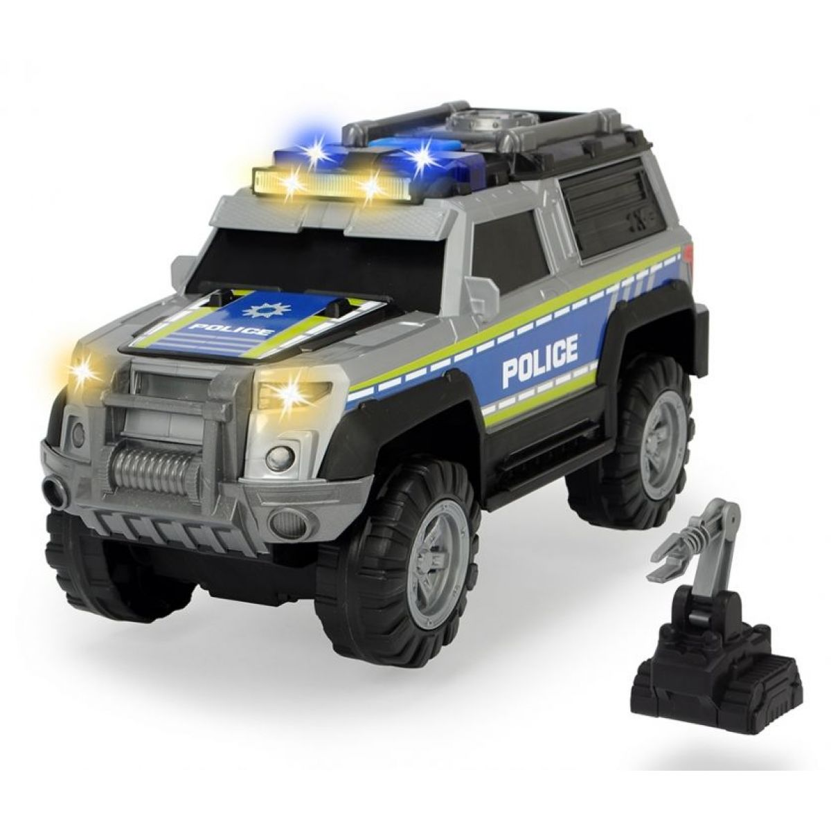 Dickie Action Series Policie Auto 30 cm