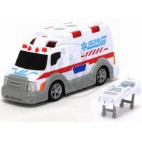DICKIE D 3313577 - AS Ambulance 15 cm, světlo, zvuk