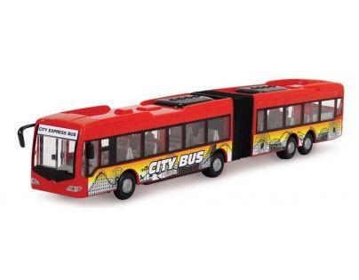 Dickie Autobus City Express Bus - Červená