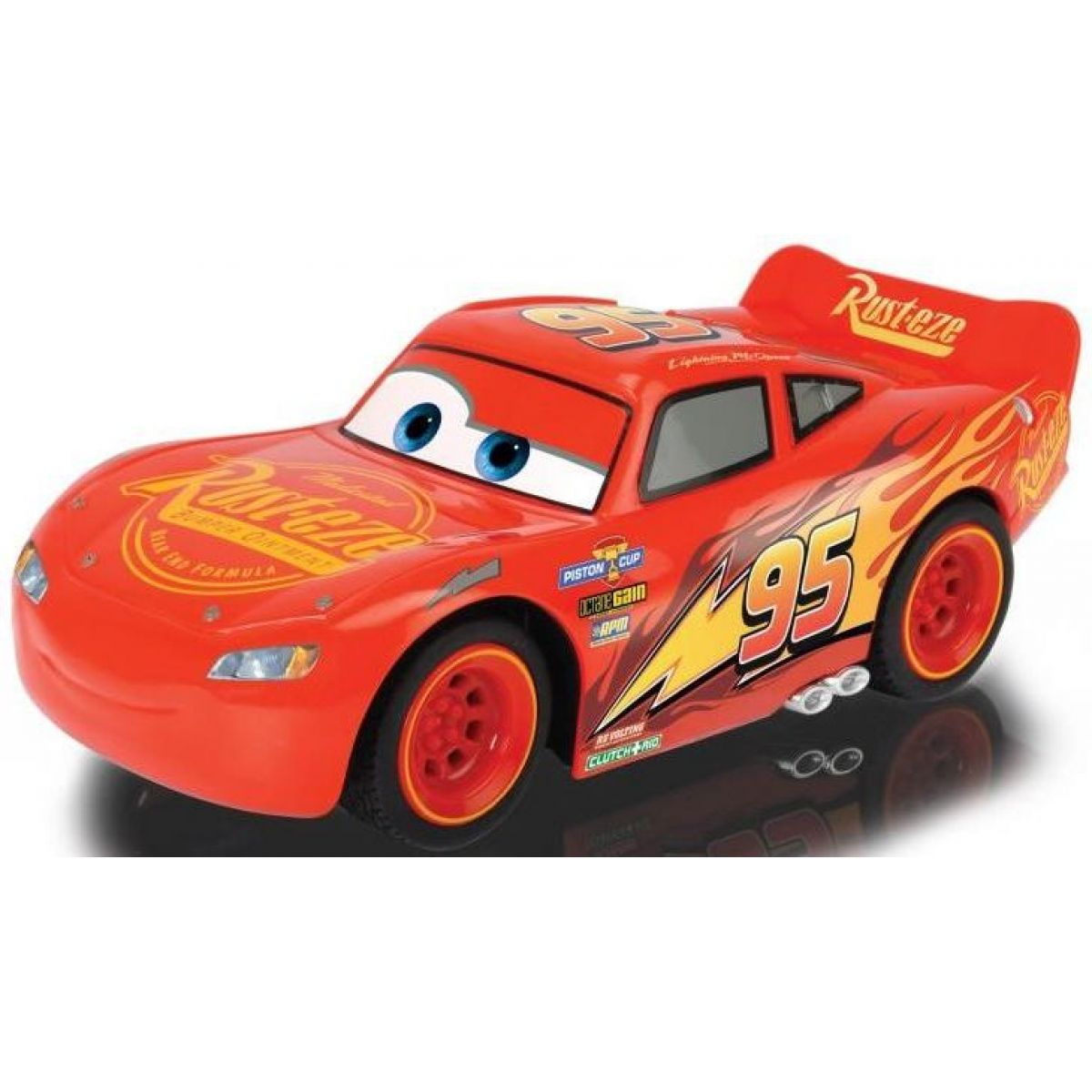 Dickie RC Cars 3 Turbo Racer Blesk McQueen 1:24 17 cm