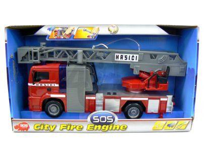 DICKIE 3443993 - Hasičské auto 31 cm, na setrvačník, světelné