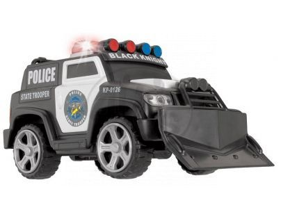 DICKIE D 3353575 - AS Policejní zásahové vozidlo 15cm, světlo, zvuk