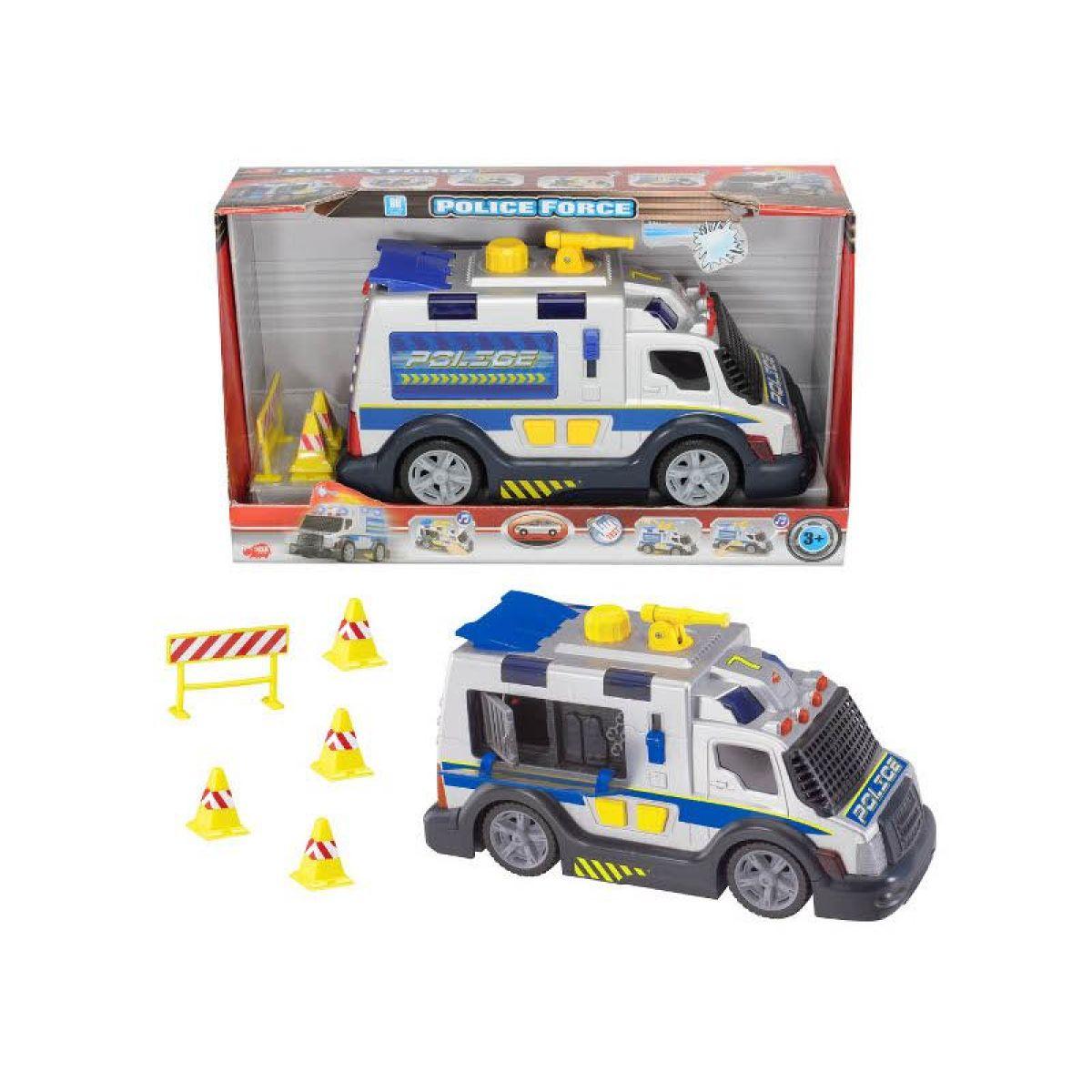 DICKIE 3318347 - Policejní zásahové vozidlo 33cm, světlo, zvuk