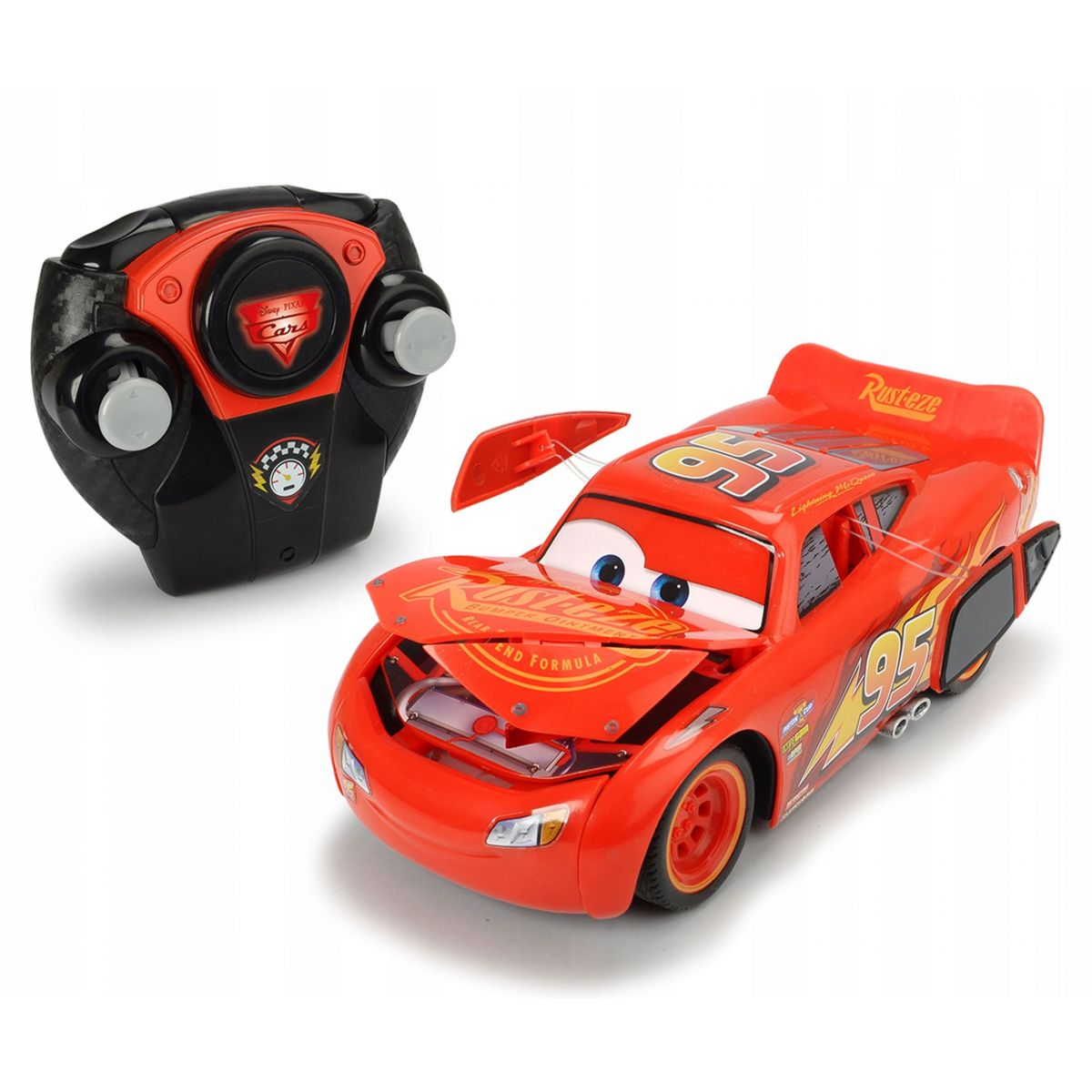 Dickie Cars 3 Blesk McQueen Crazy Crash