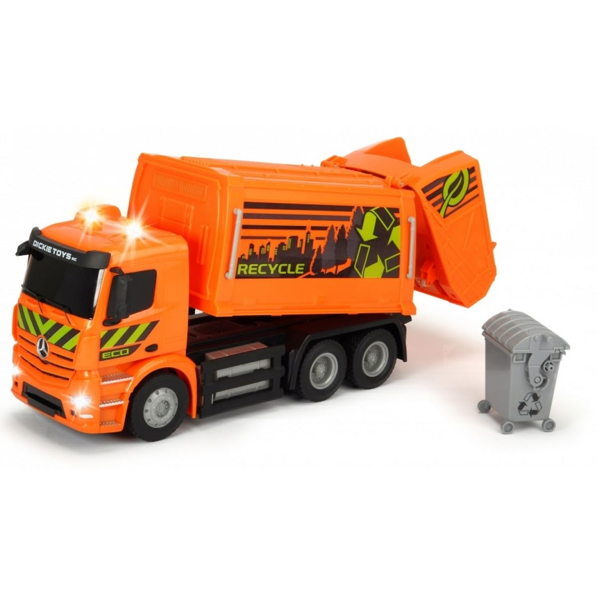 Dickie RC Mercedes-Benz Antos Garbage Truck