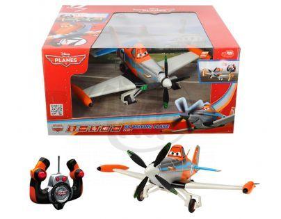 DICKIE D 3089803 - RC Planes RC jezdící letadlo Dusty, 1:24, 27 cm, 2 kan
