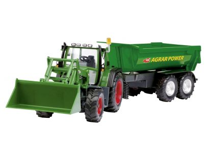 Dicke RC Traktor se lžící a vozíkem 60 cm