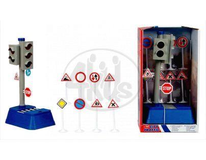 DICKIE 3313051 - Funkční semafor s příslušenstvím