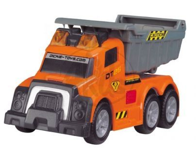 DICKIE D 3413580 - AS Dump Truck 15 cm, světlo, zvuk