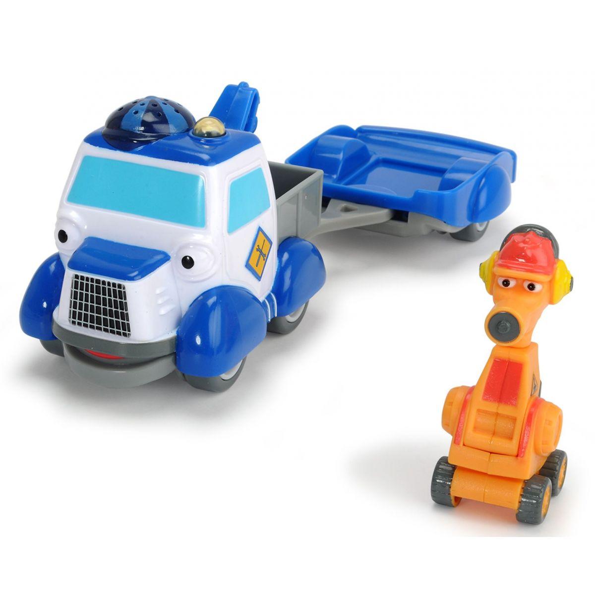 Dickie Statečná autíčka Odtahovka Tommy a Robůtek