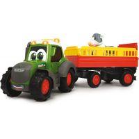 Dickie Traktor Happy Fendt s přívěsem 30 cm