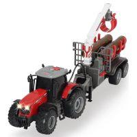 Dickie Traktor Massey s přívěsem