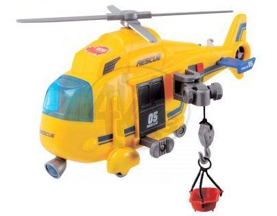 DICKIE 3563573 - Vrtulník 18cm se světlem a zvukem