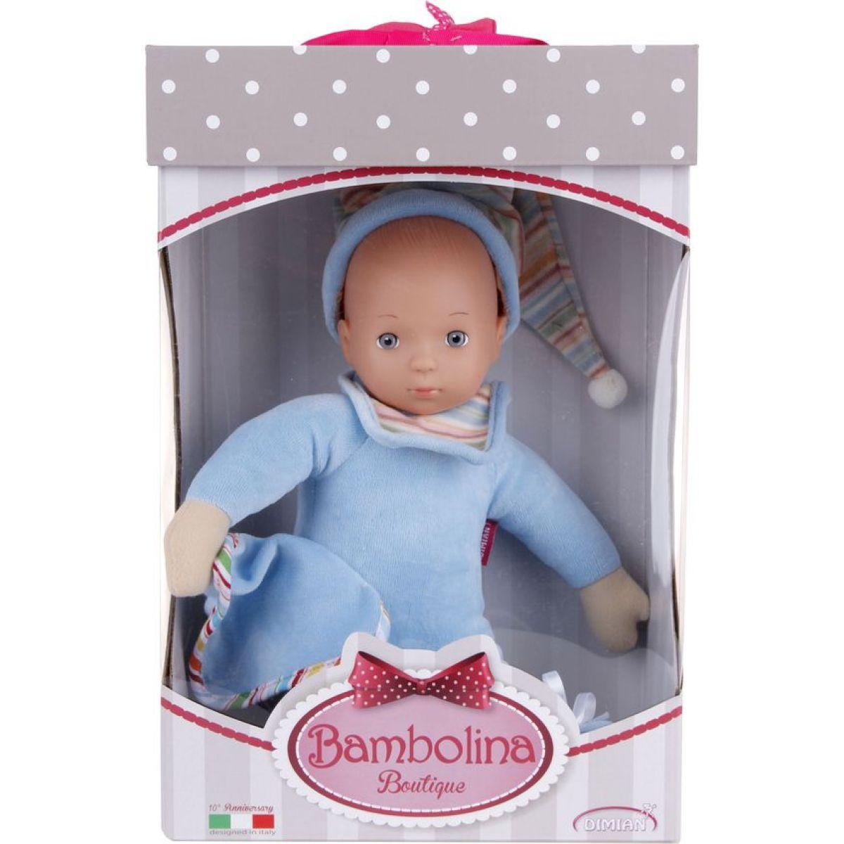 Dimian Bambolina Boutique 33 cm - Modrá