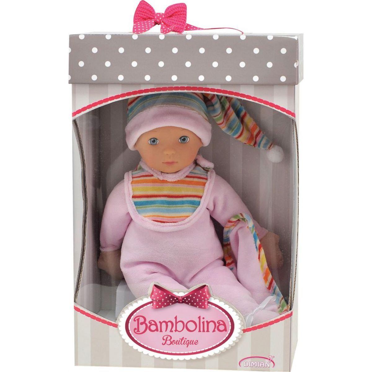 Alltoys CZ Panenka moje první miminko Bambolina Boutique 36cm