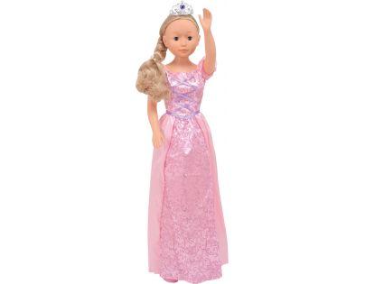 Dimian Panenka Bambolina Molly princezna 90cm - Růžové šaty