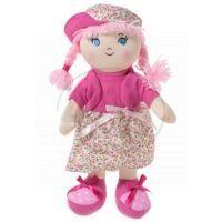 Dimian Panenka látková - Moje první Bambolina - šaty květované