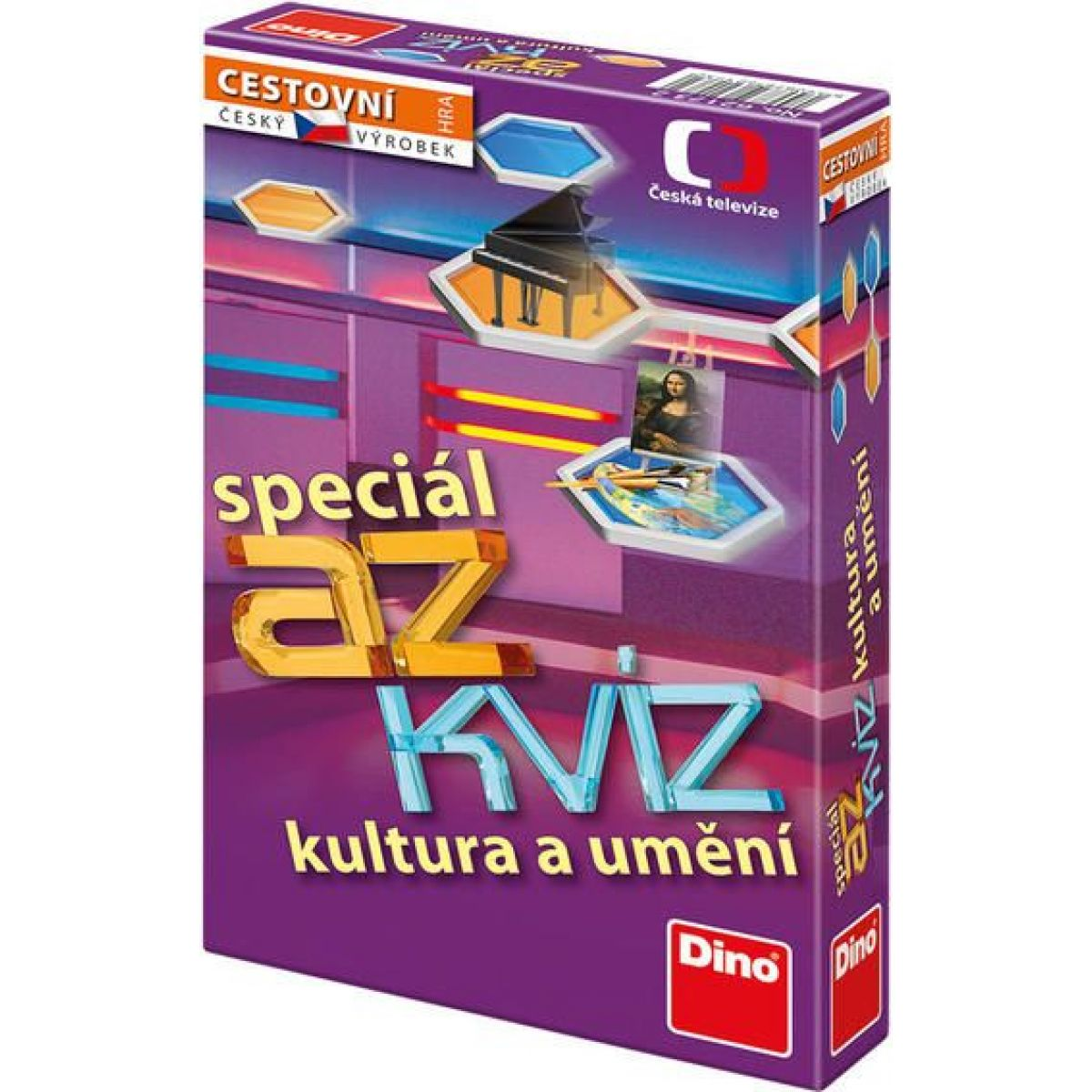 Dino AZ kvíz Speciál kultura a umění