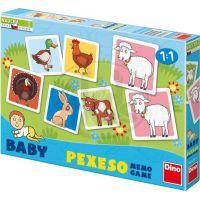 Dino Baby Pexeso Domácí zvířátka