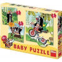 Dino Baby Puzzle Krtek na louce 12 dílků