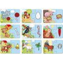 Dino Baby puzzle Zvířátka 9 x 2 ks 2