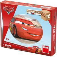 Dino Cars Kostky Kubus Auta II.  12 dílků