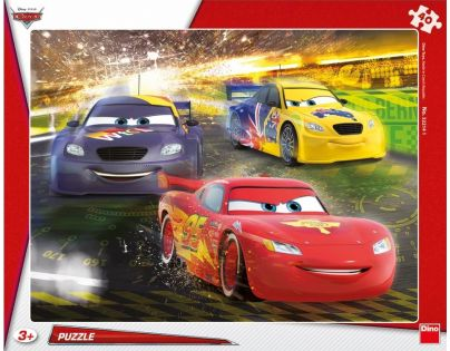 Dino Cars Puzzle Velké vítězství 40 dílků