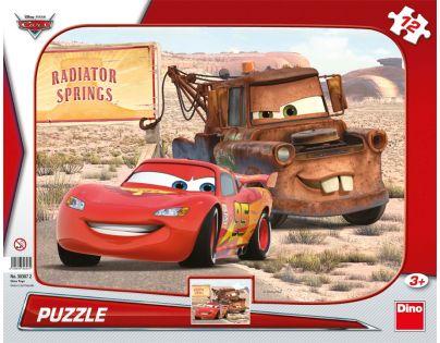Dino Cars Puzzle deskové Blesk a Burák 12 dílků