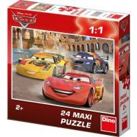 Dino Cars Puzzle Maxi Veselý Blesk 24 dílků