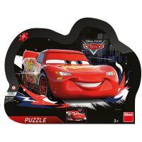 Dino Cars Souboj deskové puzzle 25 dílků