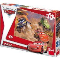 Dino Disney Cars Puzzle Off Road 66 dílků