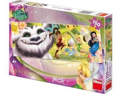 Dino Disney Fairies Puzzle Víly a Raf 150 dílků